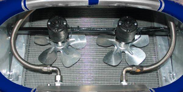 Cobra pusher fans