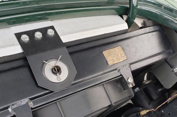 Cobra radiator with Serck tag